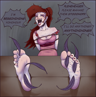 [Commish] Meg by wtfeather
