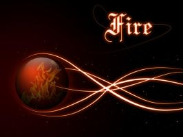 Elemental Sphere  -fire- by firstStrawberryKiss