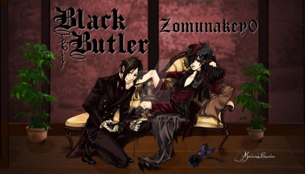 Black Butler by paranormallily32