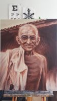 Ghandi by Tibb-the-Artist