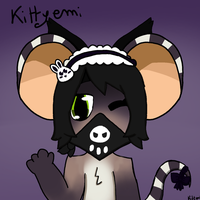 my mouse art! by kittyemi