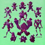 Fighting Polygon Team! by miluette