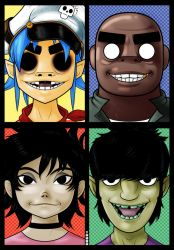 Gorillaz by Thuddleston
