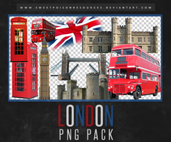 London | PNG by sweetpoisonresources
