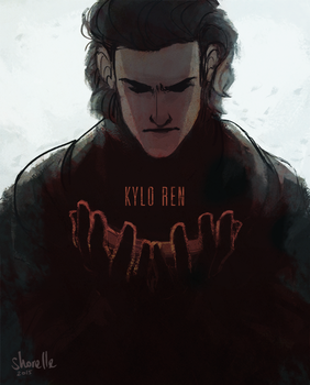 star wars - kylo ren by shorelle