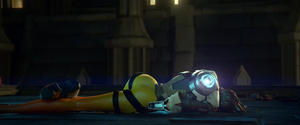 Tracer Dead - Overwatch by PlanK-69
