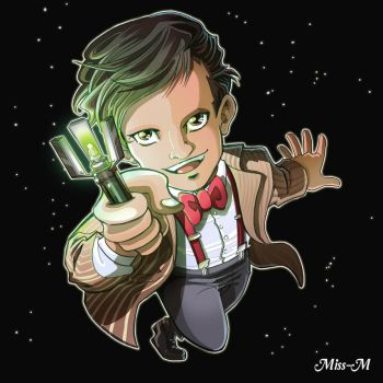Commission Chibi Doctor by Mzel-M