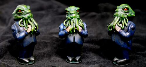 The Admirable Cthulhu by DrMonkeyface