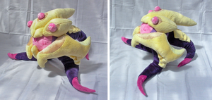 Vel'koz plush by sakuyii