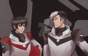 Voltron screen cap redraw by TwigsArtBlog