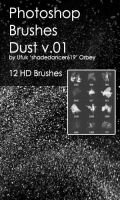 Shades Dust v.01 HD Photoshop Brushes by shadedancer619