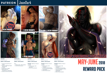 May-June Reward Pack Patreon by JoanDark