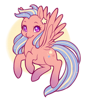 AT: sunset star by DecemberDoe