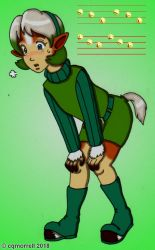 Saria to Epona TF by cqmorrell