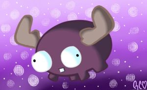 Mini Moose Wallpaper by Trollan-gurl22