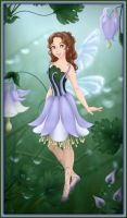 Designer challenge - Fairy of columbines by Arrelline