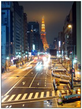 Tokyo tower. by hiitsmealec