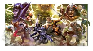 Heman MOTU COVER by Dave-Wilkins