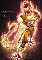GOLDEN FREEZA final Form COLOR by marvelmania