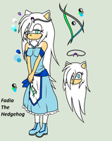 .:Fadia The Hedgehog Reference:. by xXAriaKnightXx
