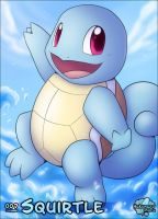 #007 - Squirtle by Hakunaro