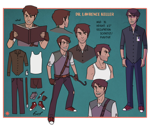 Keller Character Sheet by Teslaverian