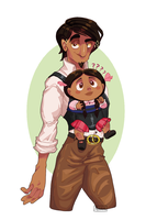 Daddy Rivera by Mannievelous