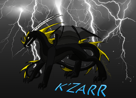 Lightning- K'zarr by Lucieniibi
