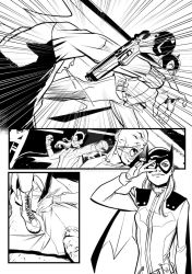 Bat Girl test page 03 by qualano