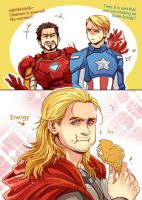The Avengers-Clean Energy by Athew