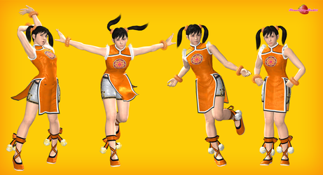 Xiaoyu poses pack by Strawberry-Pink05