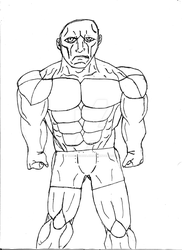Larry the Depressed Bodybuilder by TheOmegaDiajin