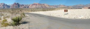Red Rock Canyon Pano 2 by mackdj
