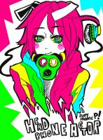 Headphone Actor CMYK by JubyPhonic