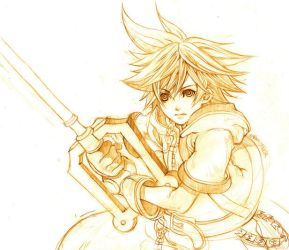 SORA KINGDOM HEARTS by meisan