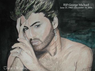 RIP George Michael by traciewayling