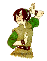 Toph-Redo by MexicanSushi