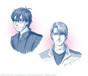 Victor + Yuri - Style Designs by KrisCynical