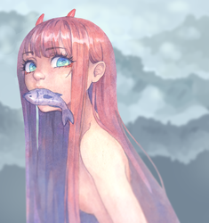Zero Two by Pink-cigarets