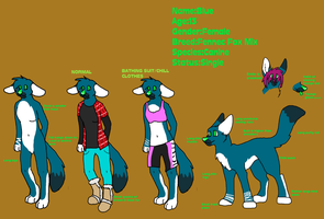 Blue Reference Sheet by Blue-Creamy-Butt