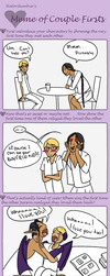 Meme Of Couples Firsts by Ogrefairy