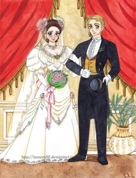 Emma _A victorian wedding_ by Leonora86