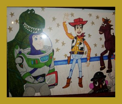 Logan's Toy Story- wdwparksgal by ThePixarClub