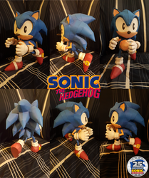 Sonic 25th anniversary Special ~Classic Sonic~ by SuperRetroBro