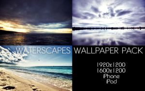 Waterscapes Wallpaper Pack by solefield