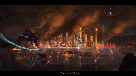 Cote d'Azur Invasion by TDSpiral