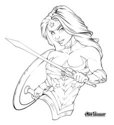 WW lines Inked by CliffThomas