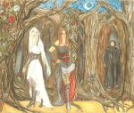 Snow White and Rose Red by Charis