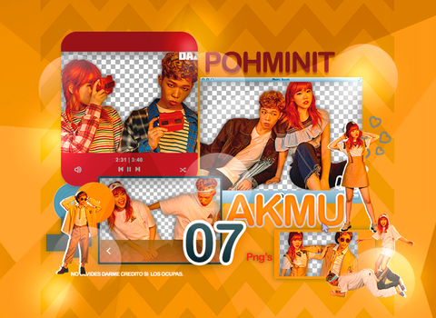 +Pack Png AKMU by Pohminit