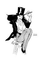 Zatanna by JasonConrad
